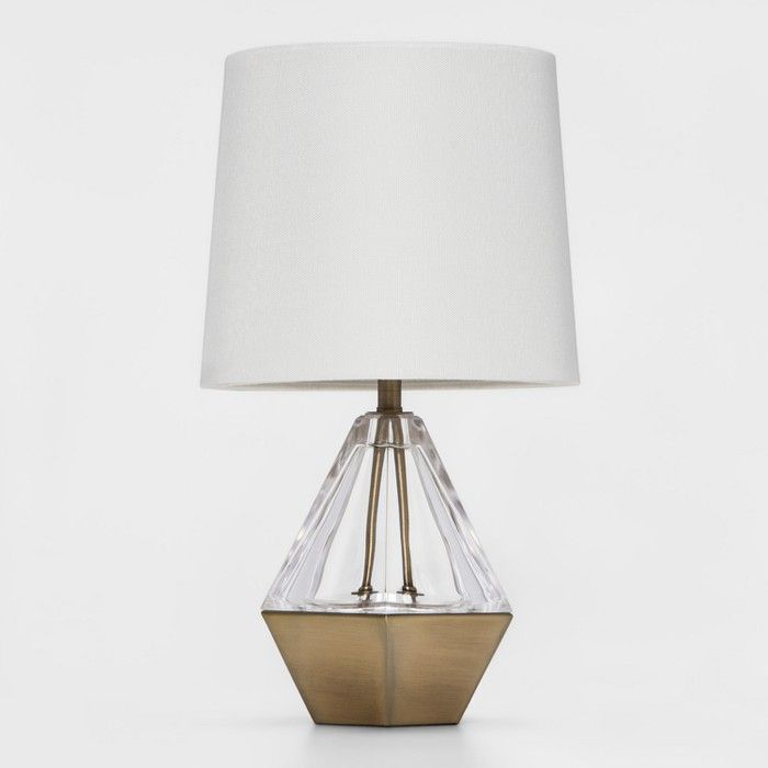 Acrylic Prism Accent Table Lamp Clear Project 62 Table Lamp Gold Table Lamp Mini Lamp