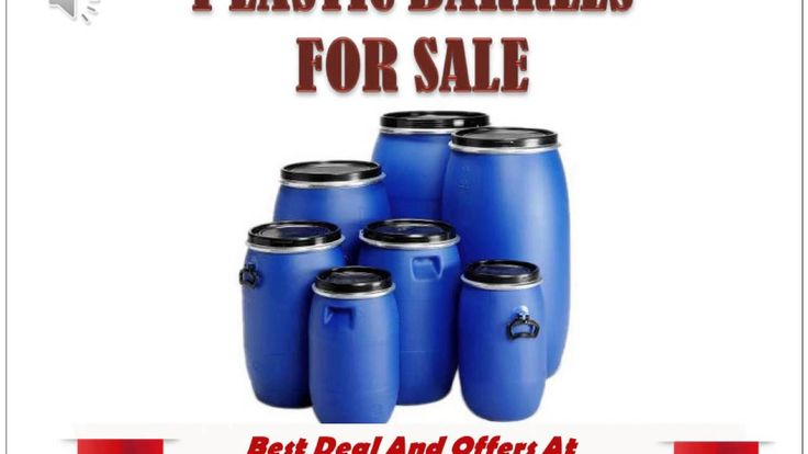 Plastic Barrels For Sale Available For Lowest Price at http://theplasticbarrels.com