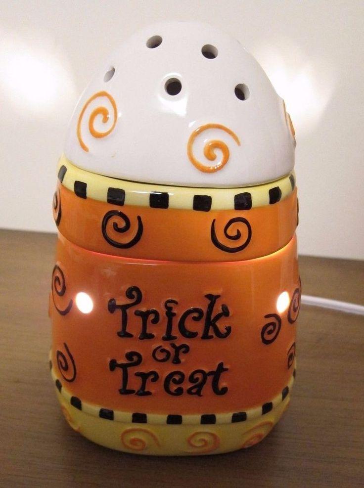 Scentsy Candy Corn Halloween Warmer -- BNIB!! #Scentsy