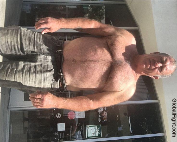 hairychest biker bear dad