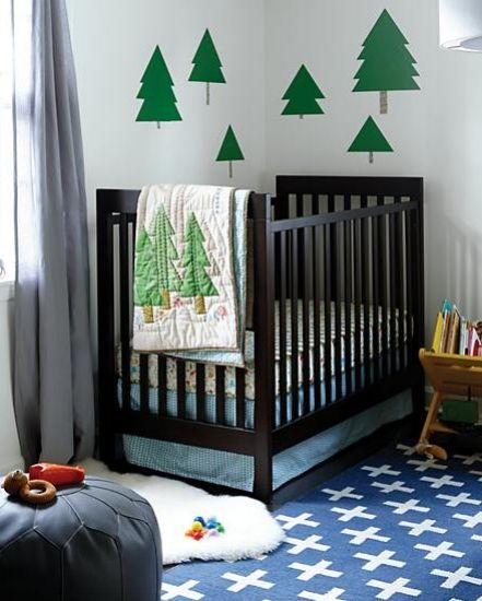 If you're in need of nursery ideas for boys, you've come to the right place! At Land of Nod, we want to inspire you to decorate the ultimate boys nursery from picking the best theme to choosing the right decor. Our fun theme ideas include outer space, race cars, jungle and more. We'll help you coordinate cribs, crib bedding, rocking chairs, decor and other accessories to create a nursery that is absolutely adorable.