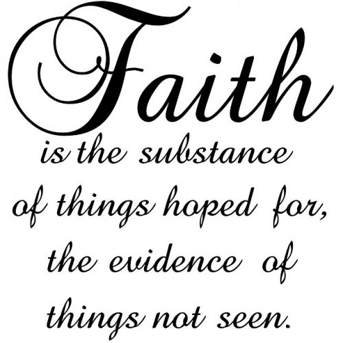 Words Of Faith Using The Letters Of Trust