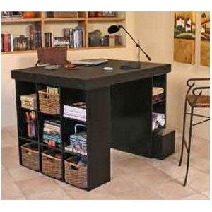 i need a craft desk w storage u0026 a lot of flat workspace