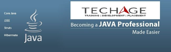 Join TechAge Academy for Java,Core Java,Advance Java,J2EE,Struts,Hibernate in Noida, Delhi/NCR Call For More Details : +91-9212063532, +91-9212043532 Visit: http://www.techageacademy.com/courses/advance-core-java-training