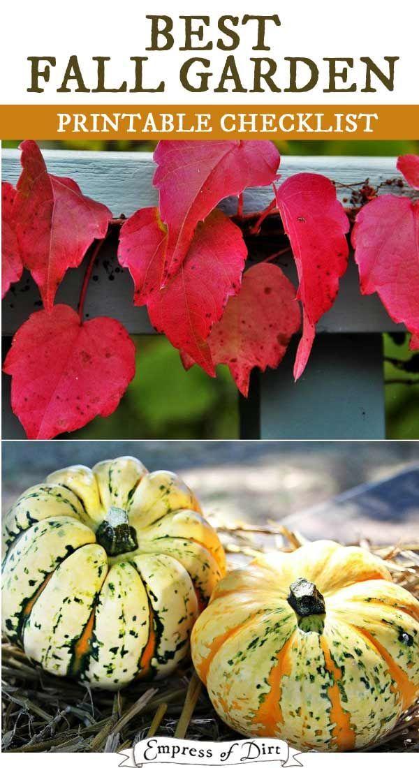 108884 best jouw pins voor your pins for images on pinterest gardening - Fall gardening tasks ...