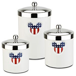 Mickey Mouse Canisters   Fourth Of July. Disney KitchenKitchen ItemsKitchen  StuffHidden ...