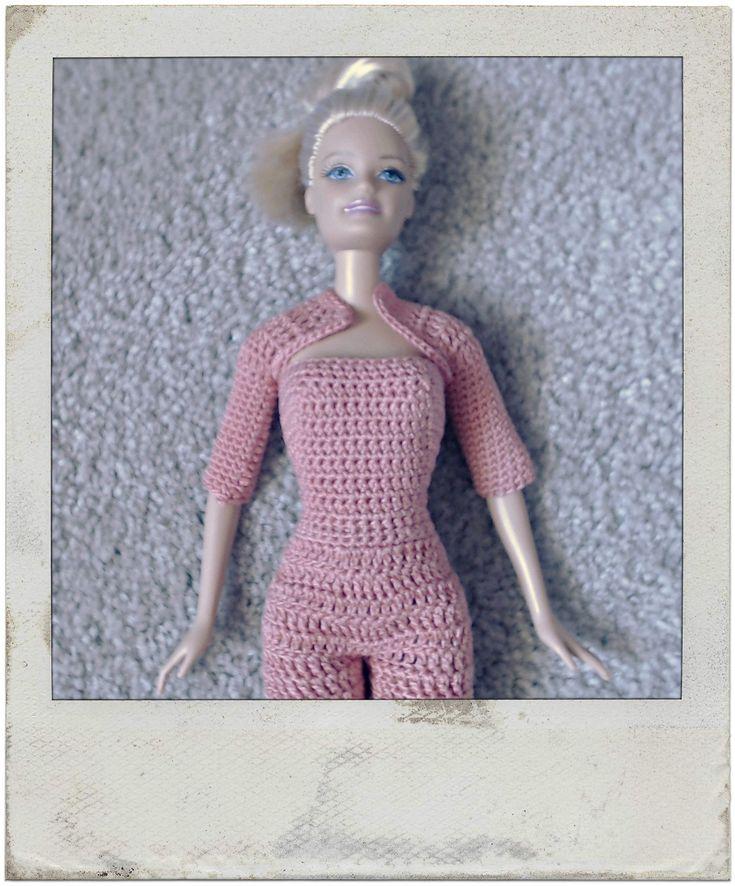 Barbie's - Single & Double Crochet Shrug