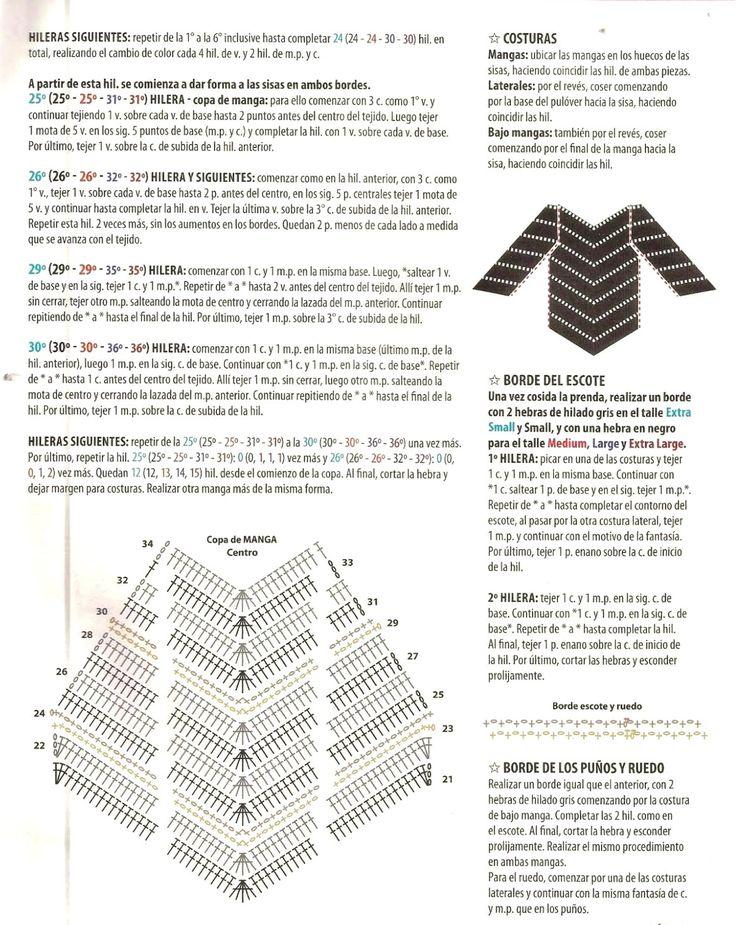 Mejores 93 imágenes de Ponchos en Pinterest | Ponchos tejidos ...