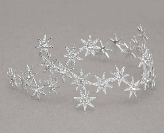 Hey, I found this really awesome Etsy listing at https://www.etsy.com/listing/517857218/bridal-wedding-star-halo-diamante-tiara