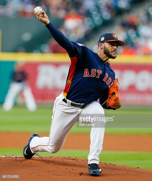 News Photo : Lance McCullers Jr. #43 of the Houston Astros...