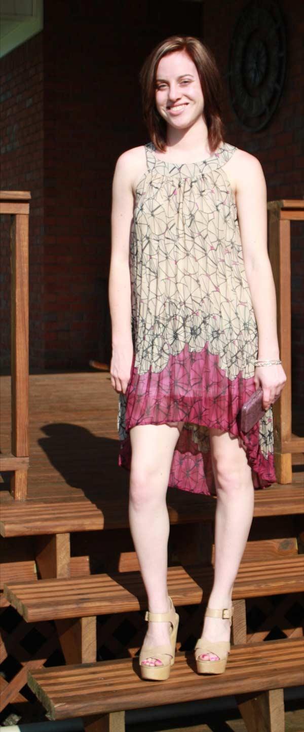 Casual Comfort - sheer georgette mini-dress..! http://reneesadvice.com