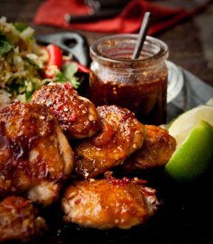 Crispy chicken with nam jim sauce - Karen Martini