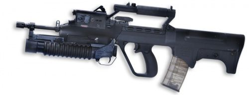 SAR 21 with M-203 grenade launcher - 5.56x45mm NATO