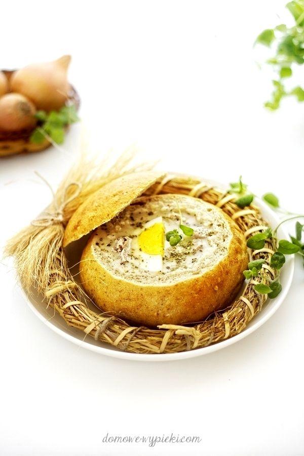 Sour bread soup