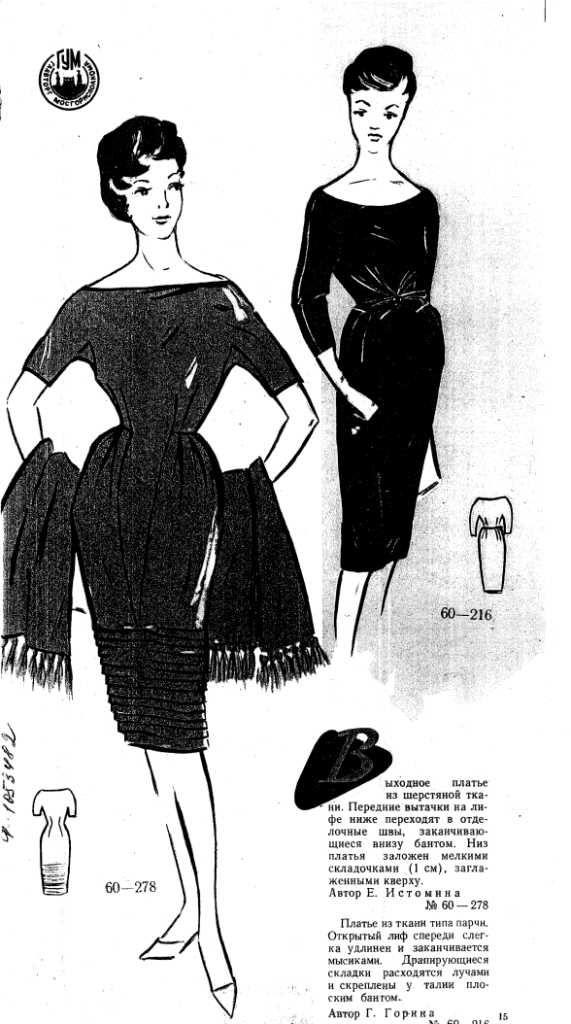 svart klänning 1