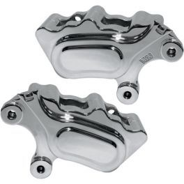 CHROME FRONT BRAKE CALIPERS - 1701-0488 - LCS Motorparts