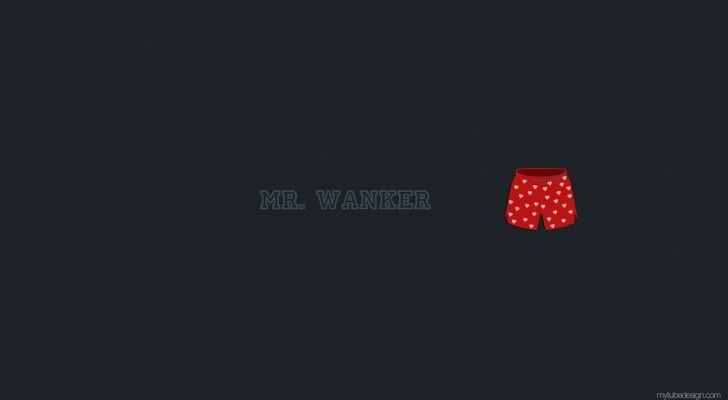 Mr. Wanker: iPhone iPad Wallpapers | YouTube Channel Art | Facebook Cover | Twitter Background | MyTubeDesign