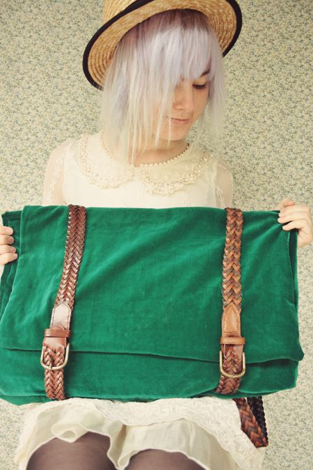 The Pineneedle Collective: DIY Satchel Bag/Backpack