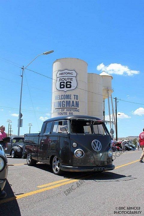 I got my kicks on Route 66 Volkswagen Bus ☮ #VWBus ☮ pinned by www.wfpcc.com