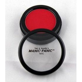 Manic Panic Vampire Red Eye Shadow / Blush Goth Punk Makeup, (blush, rouge, compact, emo, eyeshadow, goth, punk, red, scene)
