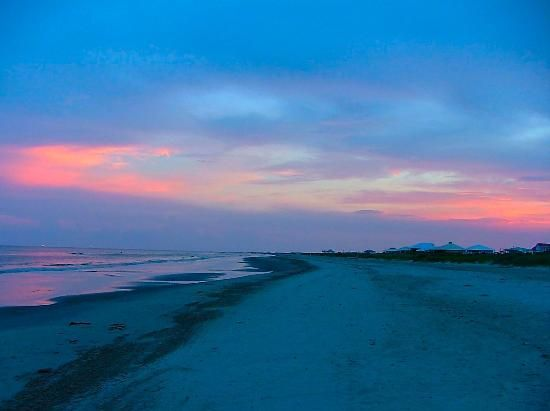 Sunset at Grand Isle!