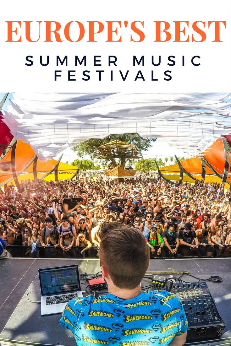 Europe's Best Summer Music Festivals: With so many incredible options, trying to figure out what the best summer music festivals in Europe are can be a bit daunting. We've done the work for you. Click her to see a list of the best summer music festivals in Europe!