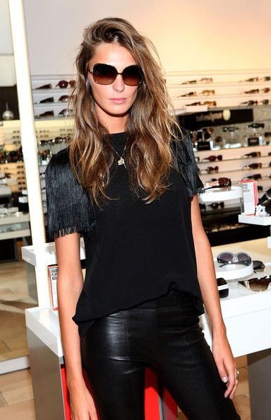 Daria Werbowy Photo - Daria Werbowy Celebrates FNO with Sunglass Hut & Vogue Eyewear