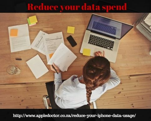 Here are some simple tips to reduce your data spend during the festive season. http://www.appledoctor.co.za/reduce-your-iphone-data-usage/