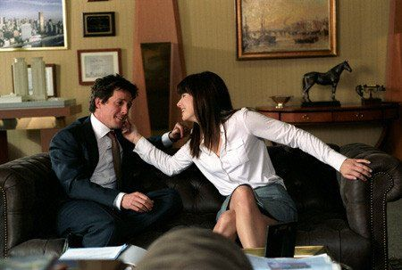 George (Hugh Grant) and Lucy (Sandra Bullock) ~ Two Weeks Notice