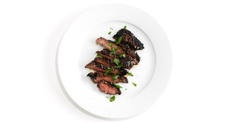 This steak pairs well with grilled corn or a crunchy salad.