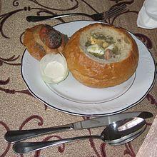 Польская кухня козий сыр