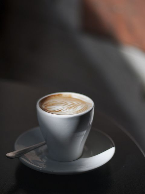 A flat white is a coffee beverage originating from Australia / by Zilch