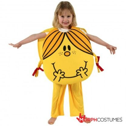 World Book Day Costumes :Our Children's Little Miss Sunshine Costume is the perfect gift for your little girl! The bright yellow outfit with smiling face captures the delightful charm of the original book character.