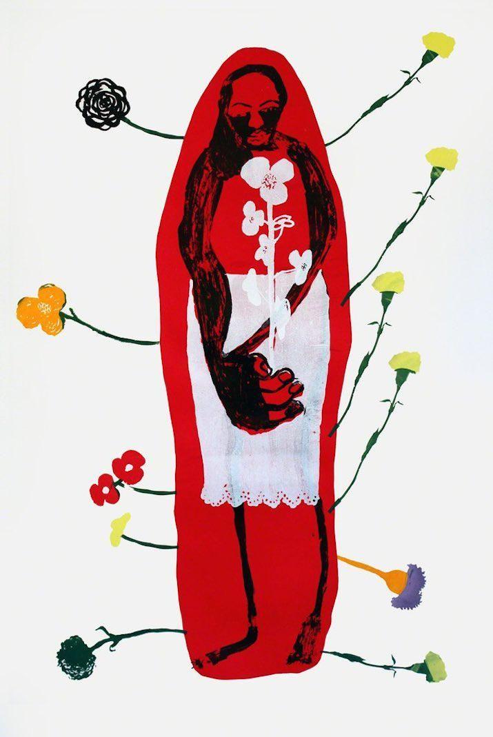 Zimbabwean artist Virginia Chihota brings her ghostly matriarchs to London: http://bit.ly/Chihota @Tiwaniart