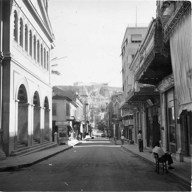 1955 ~ Aeolou street in Athens #solebike #Athens #e-bike #sightseeing