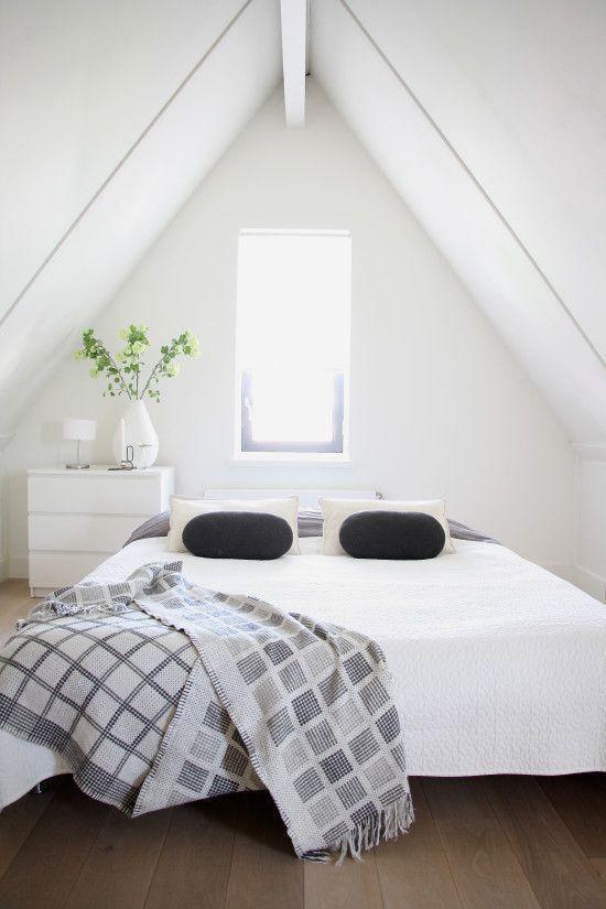 Puntdak slaapkamer