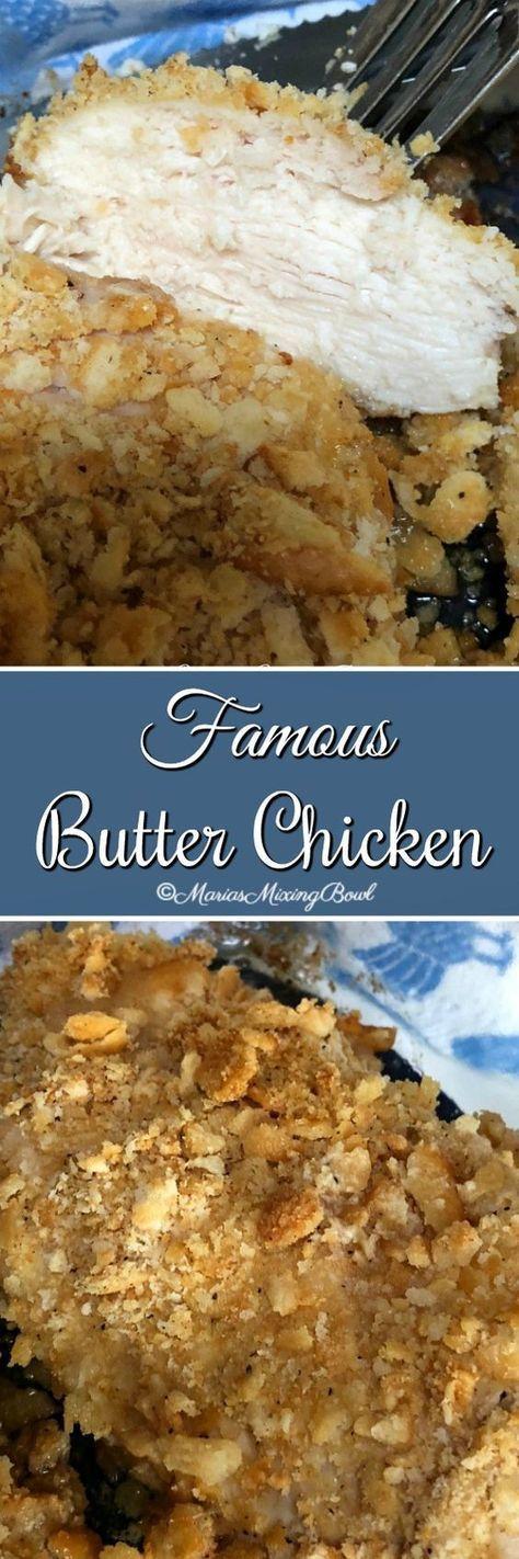 Famous Butter Chicken Recipe – Less than ten minut…