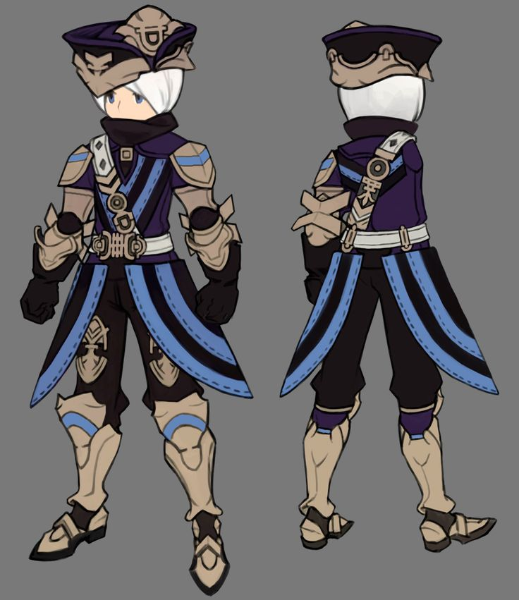dragonnest costume set - wedge plate knight