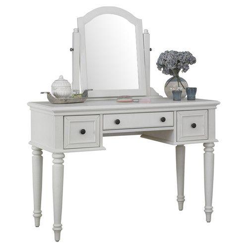 Found it at Wayfair - Kenduskeag Vanity with Mirror