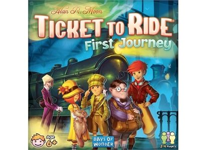 Ticket to Ride First Journey Brettspill