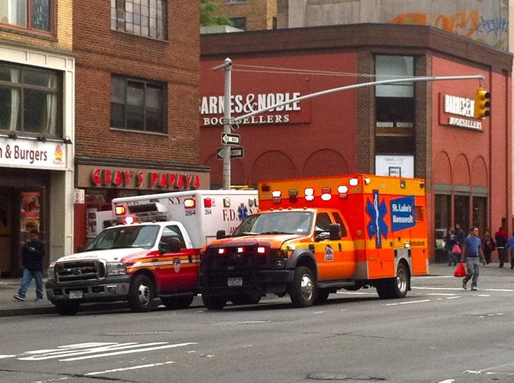 Fdny ems st lukes roosevelt hospital ambulance fdny