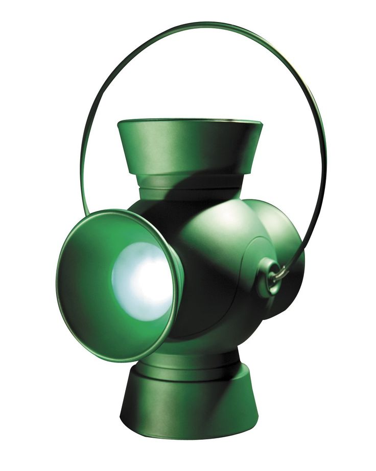 Green Lantern Power Battery and Power Ring Set - http://geekarmory.com/green-lantern-power-battery-and-power-ring-set/