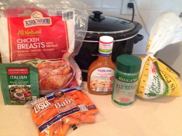Wishes do come true...: Italian chicken and vegetables -crockpot Aldi recipes cheap recipes easy recipes @ALDI USA