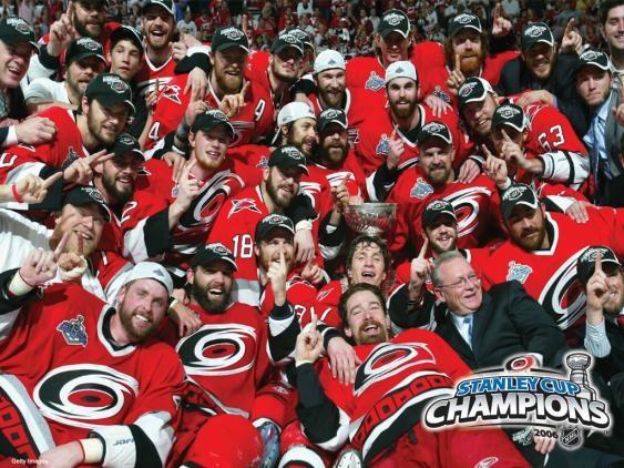 2006 Stanley Cup Champions.  Carolina Hurricanes.
