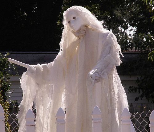 image detail for outdoor halloween decorations photo gallery - Halloween Ghost Decorations Outside