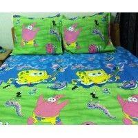 Lenjerie de pat copii SpongeBob 220x240 cm