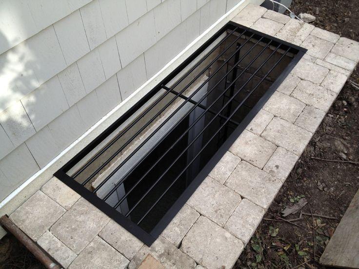 custom metal window well cover