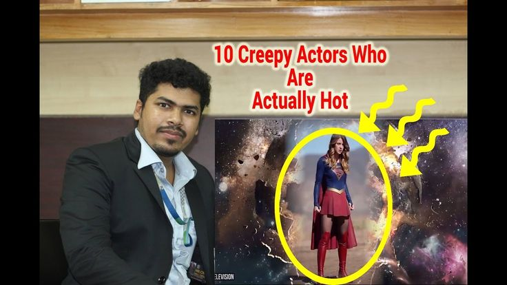 10 Creepy Actors Who Are Actually Hot REACTION!!