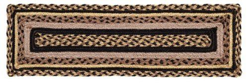 "Colfax Jute Stair Tread Rectanglar 8.5x27"" by Victorian Heart. $11.20. High end quality and workmanship!. See Product Description below for more details!. All cloth items in our collections are 100% preshrunk cotton. All braided items (like rugs, baskets, etc.) are 100% jute. Extensive line of matching items and accessories available! (Search by Collection name). Product measurements and additional details listed in title and/or Product Description below.. 100% Jute"