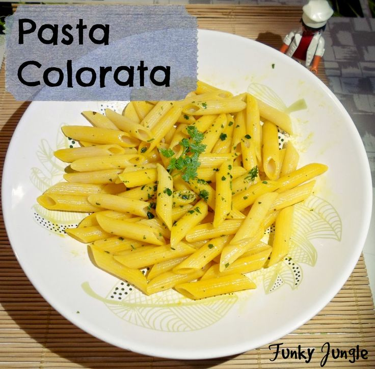 Pasta Colorata: delicious, easy, quick & vegan (and if wanted gluten free) - My 5 Ingredients for Healthy Living - plus a recipe | Funky Jungle